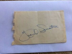 FRANK SINATRA In-Person 1950s Vintage Autograph Signature Original