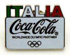 Pin Spilla Olimpiadi Torino 2006 - Coca-Cola Italia Tricolore