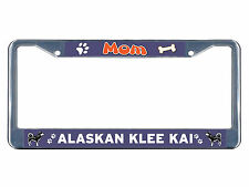 Alaskan Malamute Dog Rescue a Friend Chrome Metal License Plate Frame Tag Border