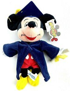 Mickey Mouse Graduation Plush Mouseketoys Disney Vtg 90s Parks Disneyland NWT