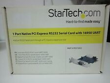 STARTECH NUEVO 1 PUERTO NATIVO SERIE PCI EXPRESS RS232 16950 UART - REF 1070
