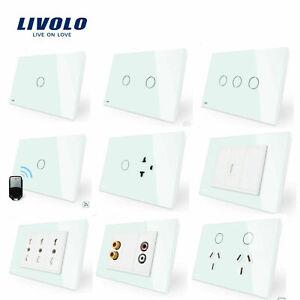 LIVOLO AU Standard Power Point Socket Wireless 1/2/3Gang Dimmer Light Switch GPO
