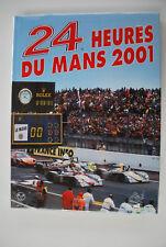 24H DU MANS 2001 LIVRE OFFICIEL ANNUEL ACO LE MANS YEARBOOK