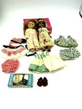 Vintage Strung Vogue Ginny Dolls Lot of Two (2) with Clothes and Shoes