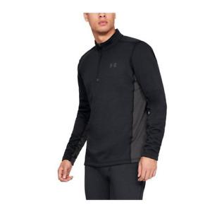 Men's Under Armour Extreme Twill Base Layer 1/4 Zip Shirt Base Layer $90 Retail