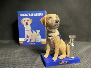 St. Louis Blues Barkin' for the Blues Theme Night Barclay Bobblehead 12-12-19