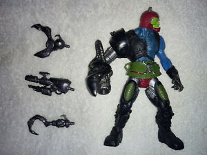 MOTU 200x Trap Jaw complete *READ He-Man Masters of the Universe figure
