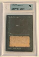 Magic The Gathering 1993 Beta Edition Word of Command Beckett Graded