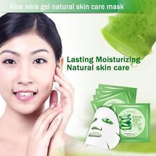 Natural Aloe Vera Moisture Essence Face Masks Sheet Facials Beauty Skin Care J61