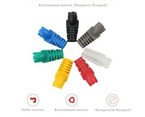 RJ45 Network Cable Connector Cover / Boot for CAT 6 (10pcs - 100pcs)