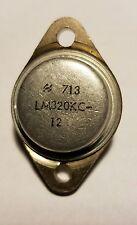 NSC LM320KC-12 Voltage Regulator  -12V Bi-Polar 3 Pin Metal TO-204