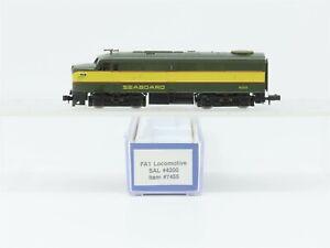 N Scale Life-Like 7455 SAL Seaboard Air Line FA1 Diesel Locomotive #4200