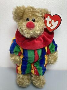 RARE! TY Piccadilly Bear *ERROR* with Azalea Bunny Hang Tag-Beanie Baby