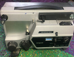 ARGUS VARI-MOTION 892Z COMPACT 8MM DUAL MASTER PROJECTOR *MINT* AS SEEN IN PICS