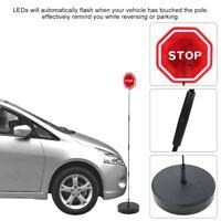 Red Safety Flashing LED Light Car Parking Stopping Sign For Garage Sensor Bumper