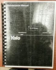 Yale Maintenance Manual OS 030 EB(B801)