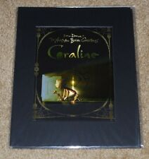 SDCC EXCLUSIVE CORALINE THE NIGHTMARE BEFORE CHRISTMAS LENTICULAR LITHOGRAPH