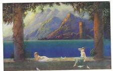 RAPHAEL TUCK POSTCARD 1920's - GOLDEN DAWN SERIES - CARD 3800 ART DECO STYLE #2