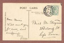 Cape Town South Africa 1909,  Marie Staegemann,  21 De Lorentz Street    RK772