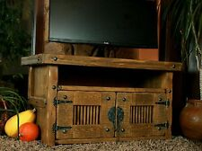 TV Table, Hifi Wardrobe,Rustic Unique,Solid Wood, Vintage, Wardrobe Table