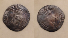 King James I Irish silver hammered coin 6d sixpence 1st