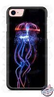 Luminous Colorful Jellyfish Ocean Life Phone Case for iPhone Samsung LG Moto etc