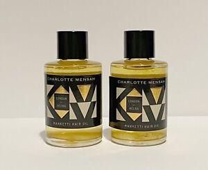 Charlotte Mensah Manketti Hair Oil 2 x 15ml Travel Size