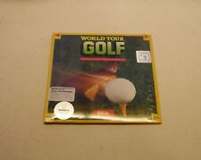 World Tour Golf by Electronic Arts forIBM PC, XT, AT - NEW