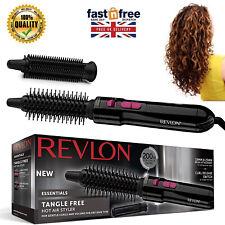 Women Brush Ladies Tangle Free Hot Air Drying Curling Hair Styler Revlon 200W