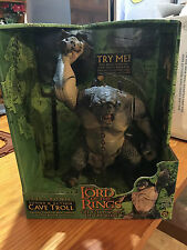 Lord Of The Rings Electronic Cave Troll Action Figure Fellowship LOTR