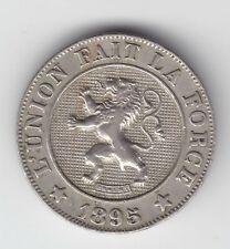 Leopold II 10 centimes 1895fr  Prima munt!