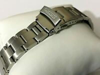 20MM CURVE LUGS SEIKO OYSTER STAINLESS STEEL MENS WATCH STRAP BAND BRACELET NEW