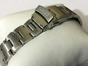 22MM SEIKO Oyester Stainless Steel Mens Watch STRAP BAND Bracelet.