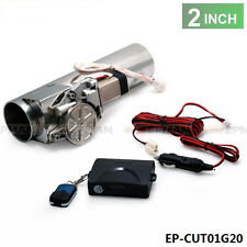 """Universal 2"""" Exhaust Pipe Electric I Pipe Exhaust Electrical Cutout With Remote"""