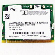 Scheda WIFI Intel PRO/Wireless 2200BG Model PD9WM3B2200BG board card modulo