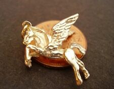 BEAUTIFUL  9CT GOLD ' PEGASUS '  SOLID 3D CHARM  CHARMS