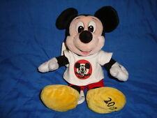 "Disneyland Club Mickey Millennium Beanbag 9"" Plush"