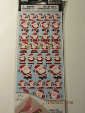 Christmas~~~SANTA  CLAUS~~~ STICKERS~~~Scrapbook~~ Cards~~~~ WORLDWIDE