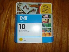 Designjet ebay hp 10 yellow ink cartridge new oem c4842a 2000c 2500c designjet colorpro cad fandeluxe Images