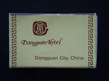 DONGGUAN CITY HOTEL CHINA 222222 MATCHBOX