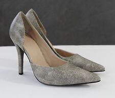 Colin Stuart Stiletto Heels Womens 6.5 B Dress Shoes Snake Skin Textured EUC
