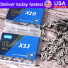 US 6/7/8/9/10/11S  116/118 Links Chains MTB Bike Cassette Sprocket Cycling Parts