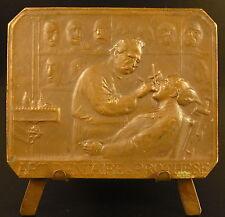 Médaille Claude Martin de Lyon Dentiste dentist 1909 ART DENTAIRE PROTHESE medal