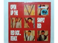 "SIMPLY RED - OPEN UP THE RED BOX REMIX - MAXI SINGLE 12"" - UK -1986- (R - EX/NM)"