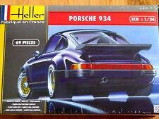 Heller 1:24 Porsche 934 Voiture Kit Modélisme