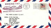 Space Shuttle B-747 Proficiency Test Flight Pilot Fulton, Edwards 19.02.81