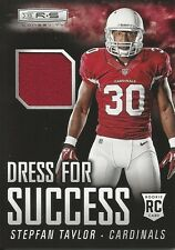 2013 13 Panini Certified Stepfan Taylor RC Jersey Arizona Cardinals Stanford