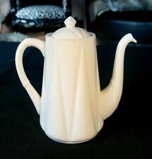 Beautiful Shelley Dainty White Coffee Pot