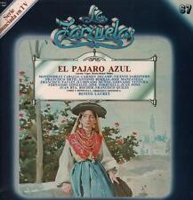 La Zarzuelas(No.67 Vinyl LP)El Pajaro Azul Benito Lauret-Zacosa-ZCL 106-VG/Ex+