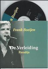 FRANK BOEIJEN - De verleiding CD SINGLE 2TR CARDSLEEVE 1995 HOLLAND